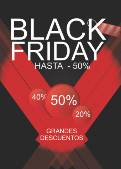Cartel para Black Friday original
