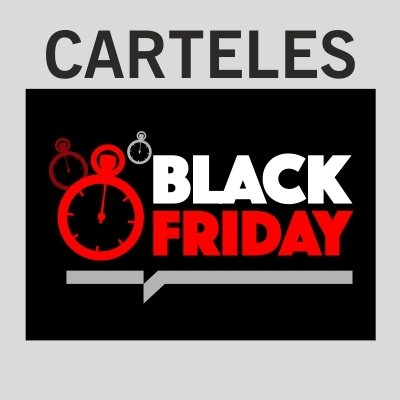 Carteles Black Friday 2020