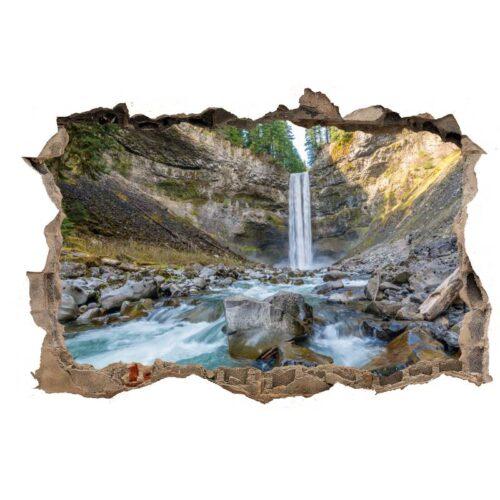 vinilo decorativo cascada agujero
