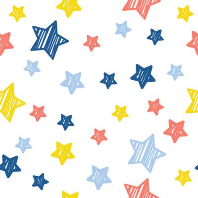 Pegatinas estrellas de colores