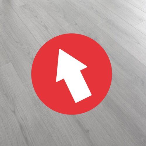 flechas para pegar en suelos